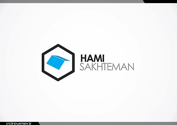 رویاگر • نمونه کارها • طراحی چاپ • لوگوی شرکت مهندسی حامی ساختمان